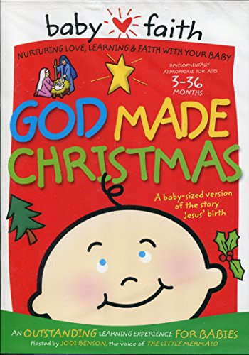 Christian Kids DVD Baby Faith God Made Christmas Ages 3 36 Months 0