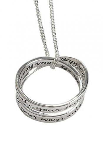 Double Mobius Necklace – Proverbs 3:5-6