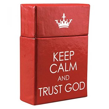 """Keep Calm And Trust God"" Cards – A Box Of Blessings"