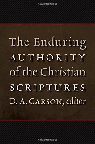 the nature and authority of scripture essay Interdisciplinary perspectives on the authority of scripture [carlos  in recent  years major questions about the nature of scripture have been  carlos bovell  has assembled an impressive collection of essays that do just that.